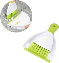 Mini Dustpan and Broom Set, Cage Cleaner for Small