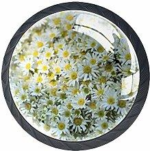 Mini Flower Cabinet Door Knobs Handles Pulls