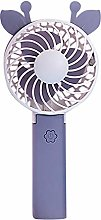 Mini Foldable Usb Hand Fan Air Conditioner Table