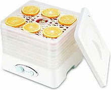 Mini Food Dehydrator Dryer, With 5 Square Shelves,