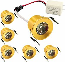Mini Gold Recessed LED Downlight with LED Driver