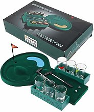 Mini Golf Drinking Game, Small Table Golf Shot