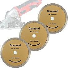 Mini Hand Circular Saw Set of 3 Diamond Saw Blade