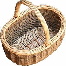 Mini Hollander Shopping Wicker Basket Brambly