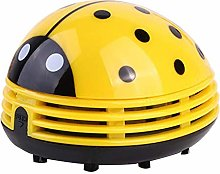 Mini Ladybug Desktop Vacuum Cleaner Dust Collector