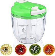 Mini Manual Vegetable Chopper with Grinder and
