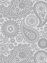 Mini Moderns Paisley Crescent Wallpaper