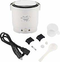 Mini Rice Cooker, 12V 100W 1L Electric Food