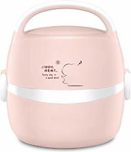 Mini Rice Cooker Steamer Portable Non-Stick Cooker