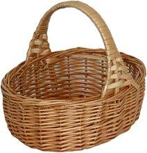 Mini Shopping Wicker Basket Beachcrest Home