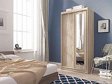 Mini Sliding Doors Bedroom Small Mirrored Wardrobe