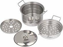 Mini Steamer Pot, Wilecolly Stainless Steel Mini