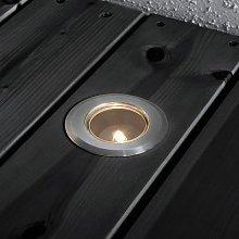 Mini uplight basic set of 6 stainless steel 7cm G4