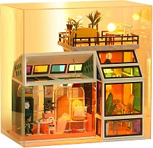 Miniature Dollhouse DIY House Kit with Furniture