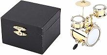 Miniature Drummer Model Drum Set Ornament