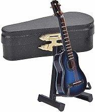 Miniature Guitar Model 8cm Wooden Guitar Model