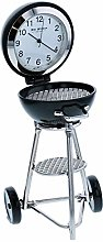 Miniature Round Barbeque Grill On Wheels Ornament
