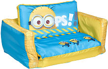 Minions 2-in-1 Inflatable Flip-out Sofa 105x68x26