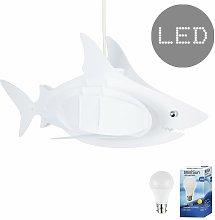 Minisun - Childrens Shark Ceiling Pendant Light