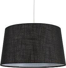 MiniSun - Faux Linen Shades Ceiling Pendant Lamp