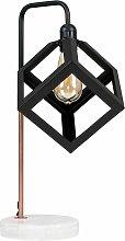 MiniSun - Industrial Copper Table Lamp Light White