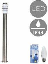Minisun - Outdoor Garden Lighting IP44 Stainless