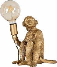 MiniSun - Quirky Monkey Holding Bulb Table Lamp