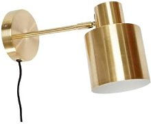 Mink Interiors - Hugo Wall Light - Brushed Brass