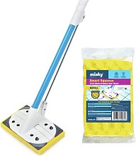 Minky Smart Squeeze Mop and Replacement Head.