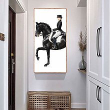 MINMIN Canvas painting Classic Horse Racing Canvas