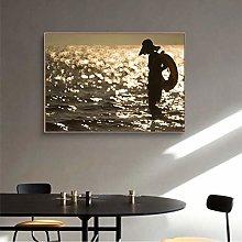 MINMIN Picture print canvas wall art Cloth