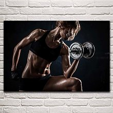 MINMIN Picture print Cloth painting Fitness Sports