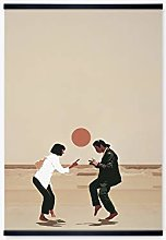MINMIN Picture print Cloth painting Pulp Fiction