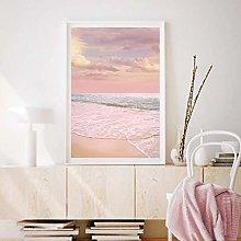 MINMIN Picture printing wall art Pink Pastel