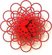 Minnick Silent Wall Clock Ebern Designs Size: