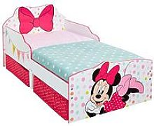 Minnie Mouse Toddler Bed With Underbed Storage