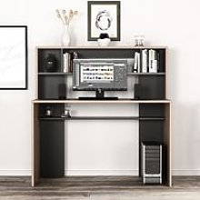 Minoty Desk - with Shelves - for Office, Bedroom -