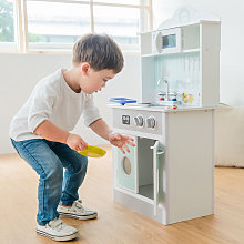 Mint Wooden Toy Kitchen for Little Chefs by Play