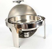 Minus One 6.8 L Round Chafing Dish Stainless Steel