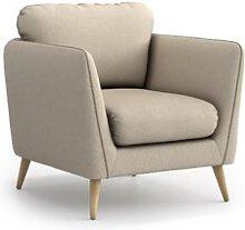 Mira Armchair Hykkon Upholstery Colour: Beige