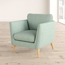 Mira Armchair Hykkon Upholstery Colour: Light Green