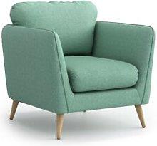 Mira Armchair Hykkon Upholstery Colour: Mint