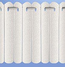 Mirabel Rhodes Plain Lace Net Voile Vertical