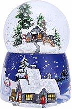 miraculocy Christmas Snow Globe,Christmas Snowball