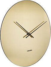 Mirage 40cm Wall Clock Karlsson Colour: Gold