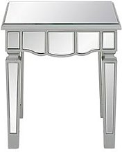 Mirage Mirrored Lamp Table