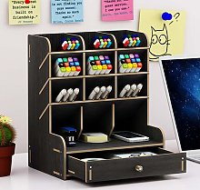 Mirari Desk Organiser Rebrilliant Colour: Black