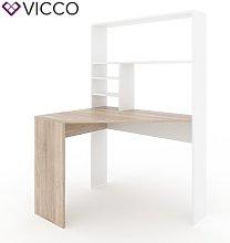 Mirata Corner Desk Ebern Designs Colour: Beige