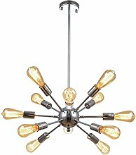mirrea Sputnik Chandelier Vintage Edison Light