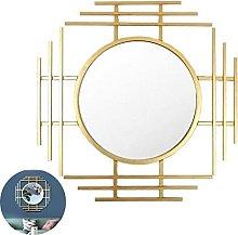 Mirror Decoration Mirror Wall Large Metal Gold